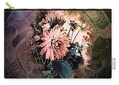 Timeless Dahlia Carry-all Pouch