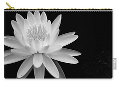 Black And White -timeless Lily Carry-all Pouch