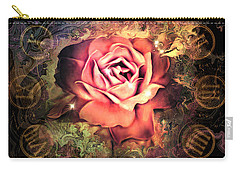 Timeless Rose Carry-all Pouch