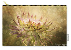 Timeless Thistle Carry-all Pouch by Maria Urso