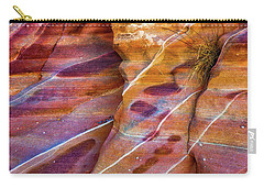 Carry-all Pouch featuring the photograph Timelines by Darren White