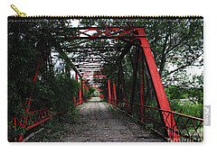 Time's Forgotten Walking Bridge Carry-all Pouch by Natalie Ortiz