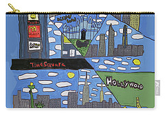 Times Square Carry-all Pouch by Artists With Autism Inc