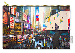 Times Square Carry-all Pouch by Chris Armytage