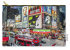Times Square II Carry-all Pouch by Ray Warren