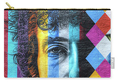 Times They Are A Changing Giant Bob Dylan Mural Minneapolis Detail 2 Carry-all Pouch