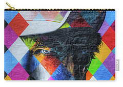 Times They Are A Changing Giant Bob Dylan Mural Minneapolis Detail 3 Carry-all Pouch