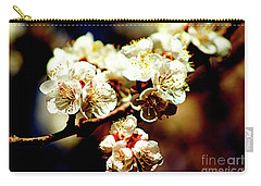 Timid Love Apricot Blossoms II Carry-all Pouch