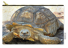 Timothy The Giant Tortoise Carry-all Pouch