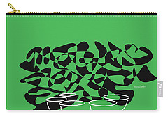 Timpani In Green Carry-all Pouch by David Bridburg