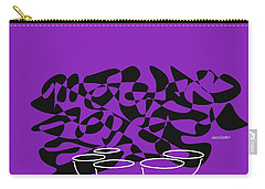 Timpani In Purple Carry-all Pouch by David Bridburg