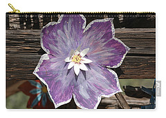 Tin Flower Carry-all Pouch