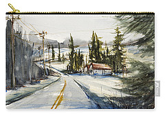 Tin Roof Rusted Carry-all Pouch by Judith Levins