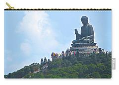 Tin Tan Buddha In Hong Kong Carry-all Pouch