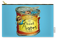 Tinned Pirates Carry-all Pouch by Andy Catling
