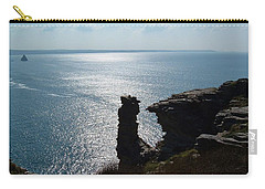 Tintagel Stack Cornwall Carry-all Pouch