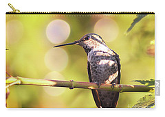 Tiny Bird Upon A Branch Carry-all Pouch