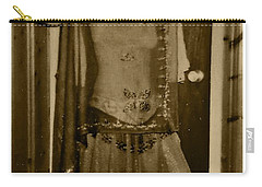 Carry-all Pouch featuring the photograph Tiny Dancer by Denise Fulmer