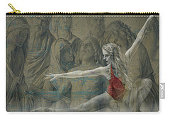 Carry-all Pouch featuring the digital art Tiny Dancer  by Paul Lovering
