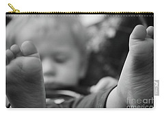 Carry-all Pouch featuring the photograph Tiny Feet by Robert Meanor