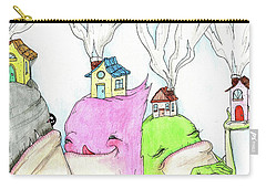 Tiny Houses Carry-all Pouch