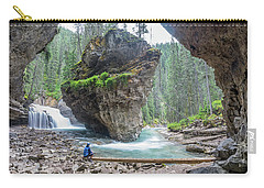 Tiny People Big World Carry-all Pouch by Alpha Wanderlust