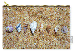 Tiny Seashells On The Sand Carry-all Pouch