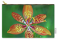 Tiny Tropical Lily Carry-all Pouch