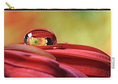 Tiny Water Drop Reflections Carry-all Pouch