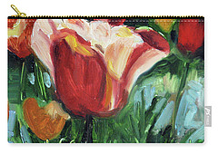 Tip Toe Thru The Tulips Carry-all Pouch