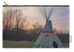 Tipi Sunset Carry-all Pouch