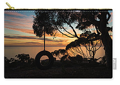 Tire Swing Sunset Carry-all Pouch