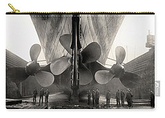 Titanic's Propellers  Carry-all Pouch