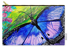 Titanium Butterfly Carry-all Pouch