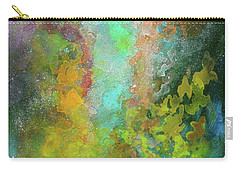 Title. Allegro Abyss. Abstract Acrylic Painting. Carry-all Pouch