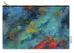 Title. Galactic Adagio Acrylic Painting. Carry-all Pouch