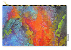 Title. Symphonata. An Acrylic Painting Carry-all Pouch