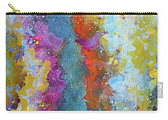 Title. Symphonic Nebula. Abstract Painting. Carry-all Pouch