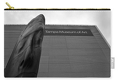 Carry-all Pouch featuring the photograph Tampa Museum Of Art Work A by David Lee Thompson