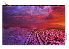 Carry-all Pouch featuring the photograph To All Ends Of The World by Phil Koch