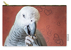 To Be Owned By A Grey Is To Know Love Carry-all Pouch