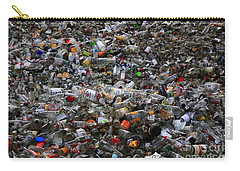 Carry-all Pouch featuring the photograph To Be Recycled by Nareeta Martin