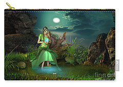 Carry-all Pouch featuring the digital art To Go Beyond by Shadowlea Is