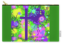 To God Be The Glory Carry-all Pouch