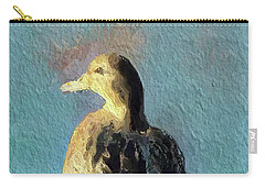 Carry-all Pouch featuring the digital art Solitude by Linda Weinstock
