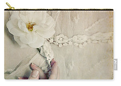 To Hold A Rose So Sweet Carry-all Pouch