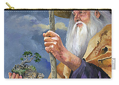 To Hold The World In The Palm Of Your Hand Carry-all Pouch by J W Baker