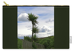 Carry-all Pouch featuring the photograph To Kouka Cabbage Tree by Nareeta Martin