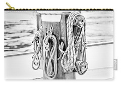 Carry-all Pouch featuring the photograph To Sail Or Knot by Greg Fortier