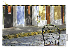 To Sit In Old San Juan Carry-all Pouch
